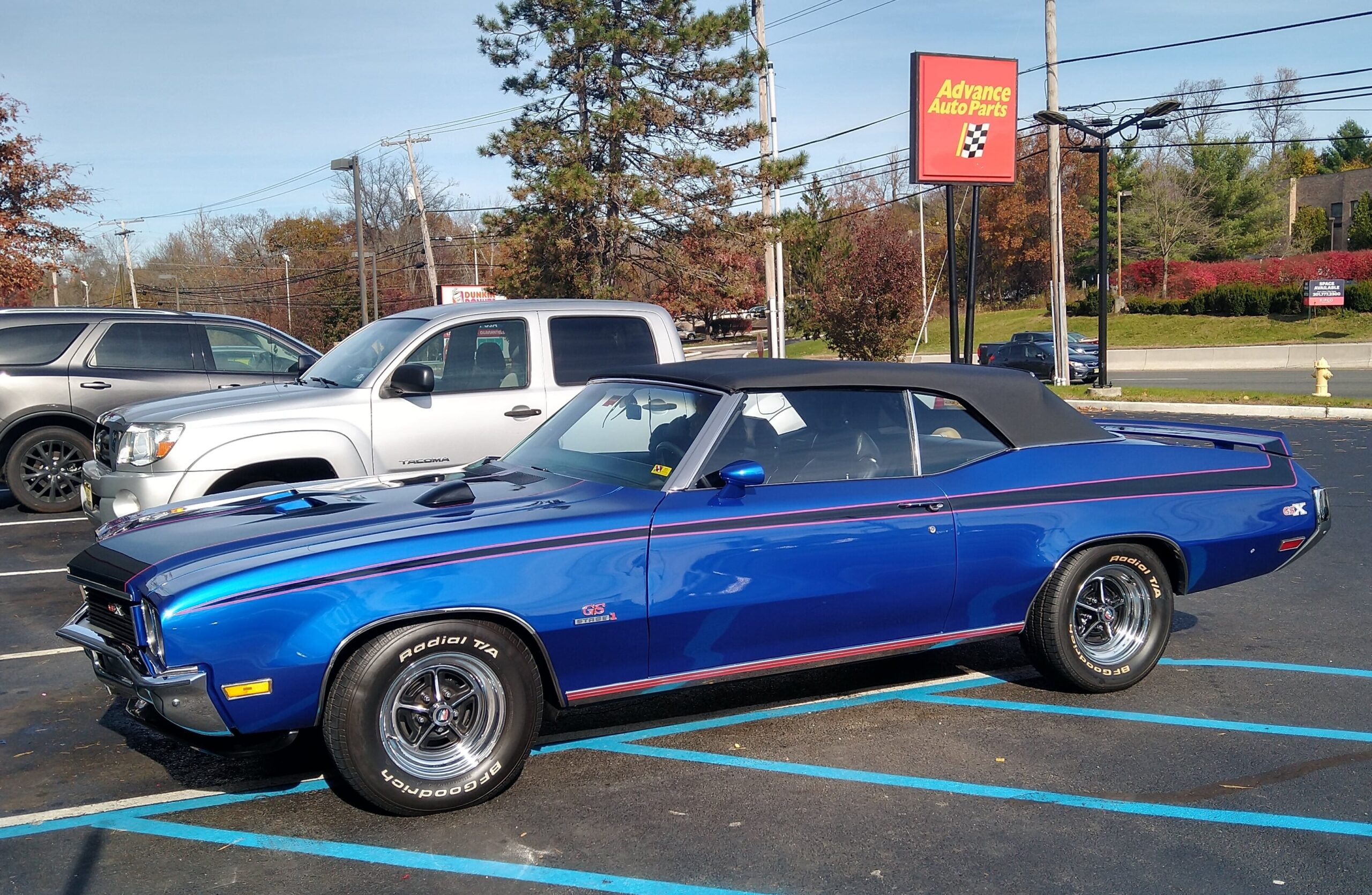 Michael Zedack, Oak Ridge, NJ- 1972 Buick GSX Convertible Tribute