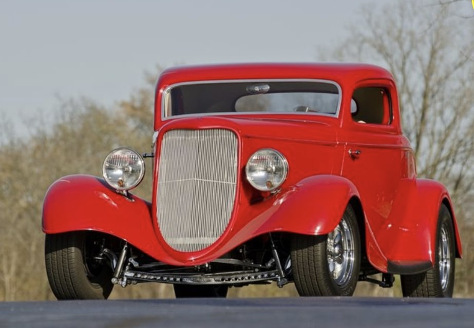 Mike Miller - Trenton NJ - 1933 Ford Coupe
