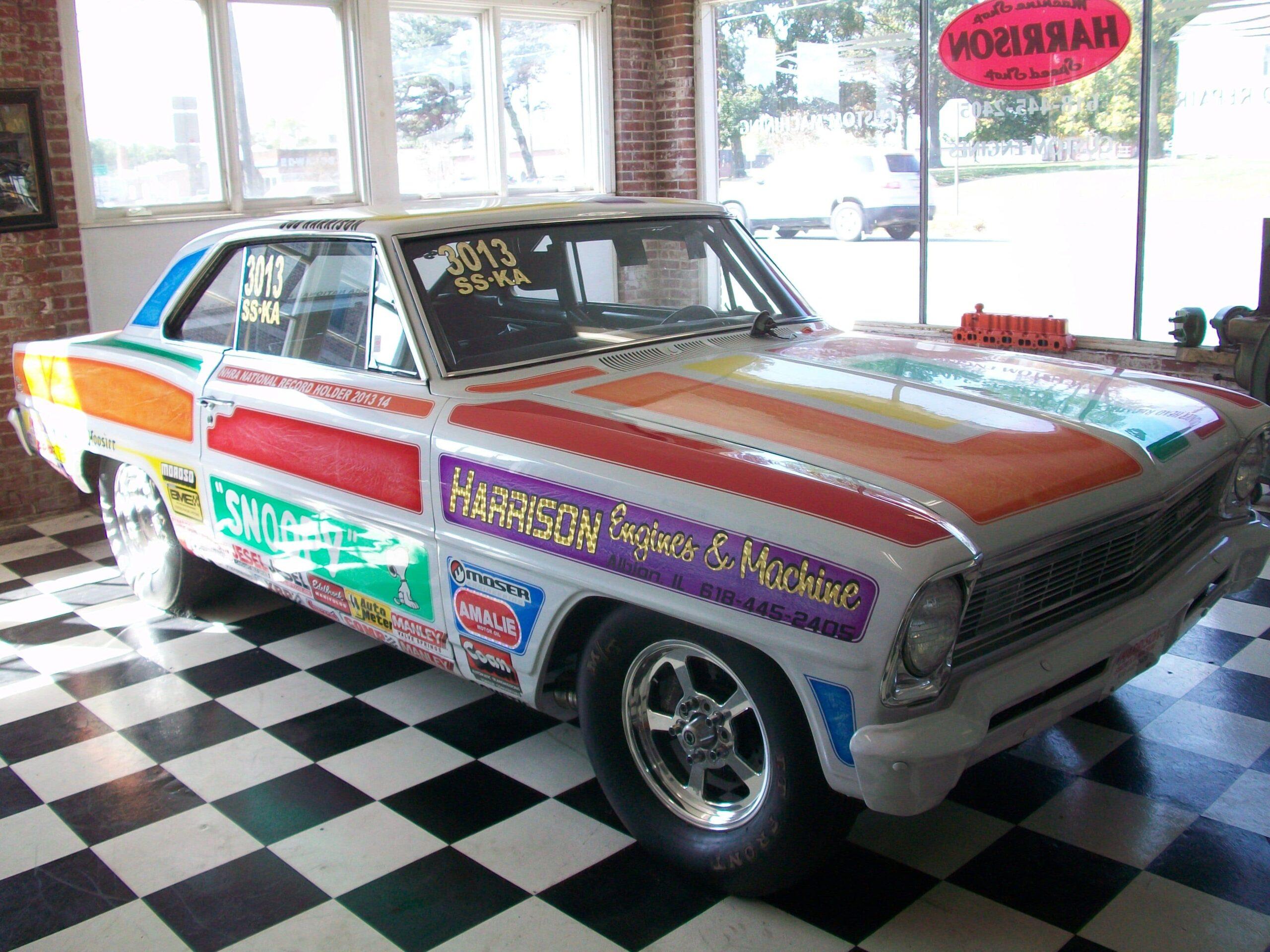 Robert E Harrison, 1966 Chevy Nova SS - Albion, IL
