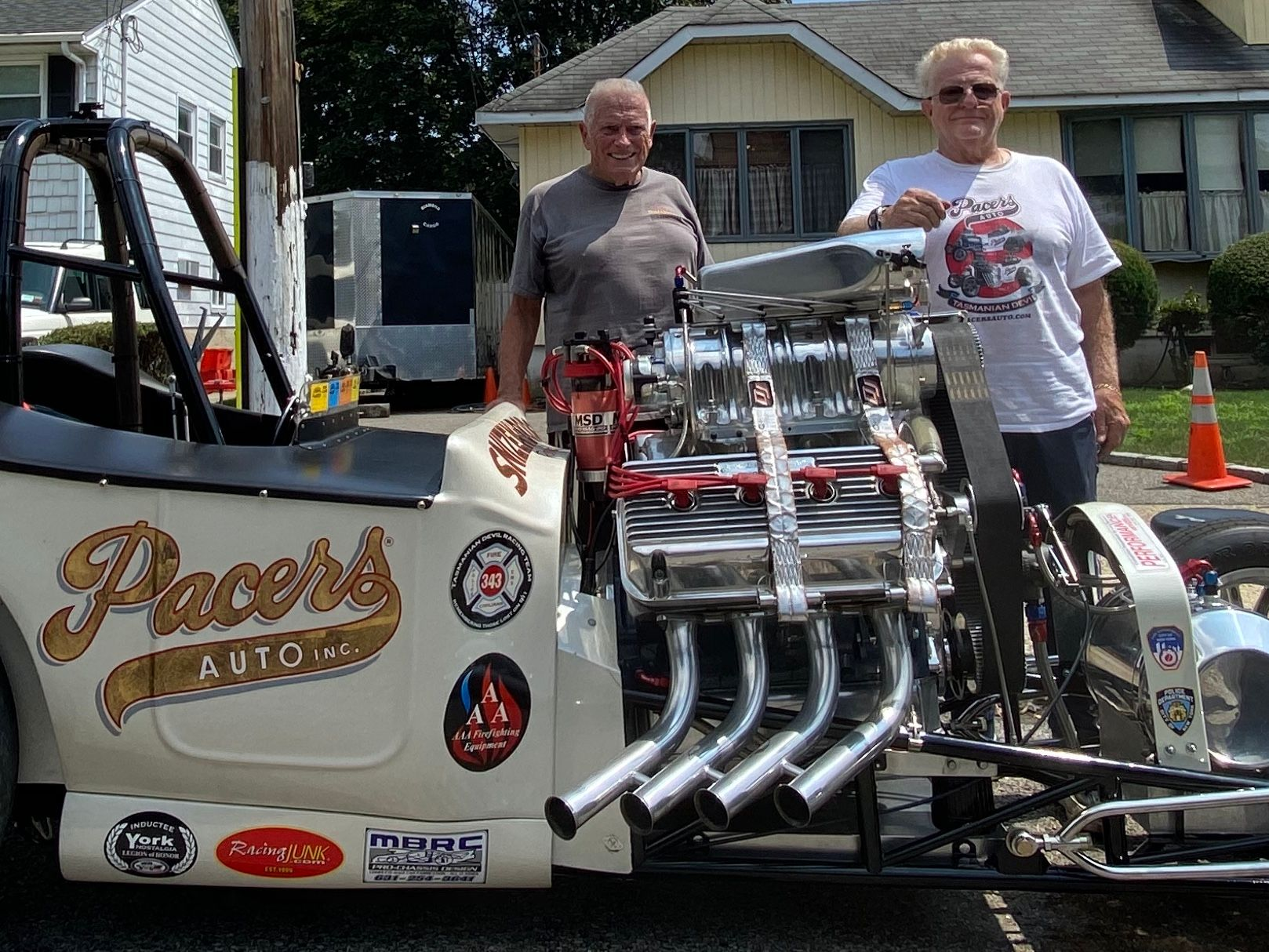 Scott & George Snizek of Pacers Auto, 1923 Ford T AA/Fuel Altered - West Hempstead, NY