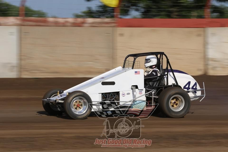 Greg McGehee - Hesston, KS - 1981 Nance Champ Car