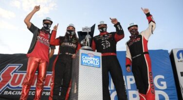 Let The Champagne Flow 2020 NHRA Champions Crowned in Unusual Season