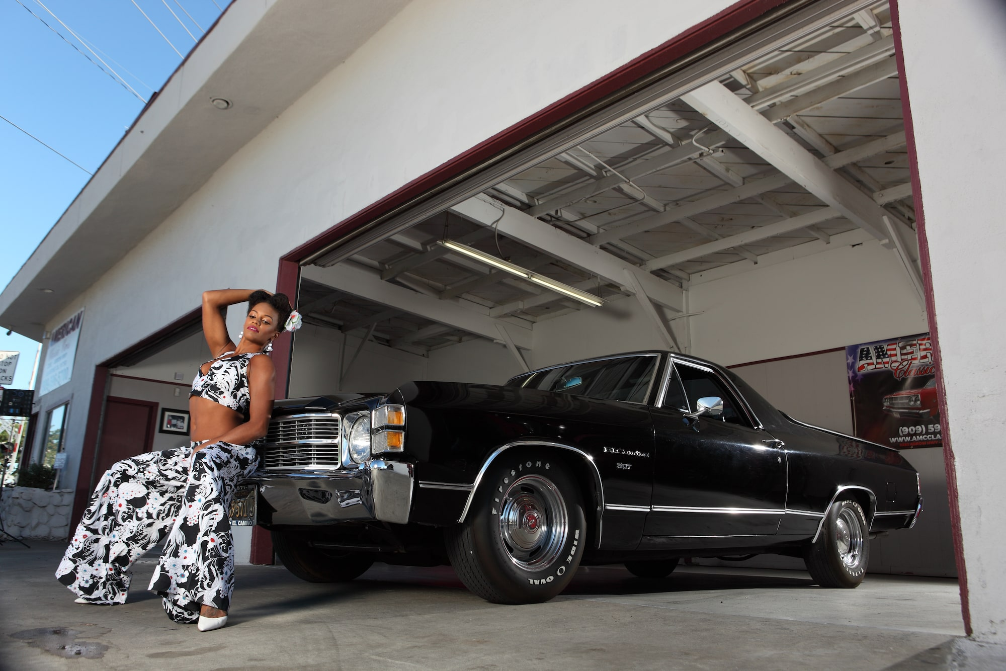 Pinup Pole Show Candace Cane and El Camino Photo 3