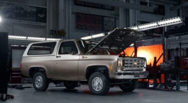K5 '77 Blazer Build Hosts Chevy's New eCrate Engine