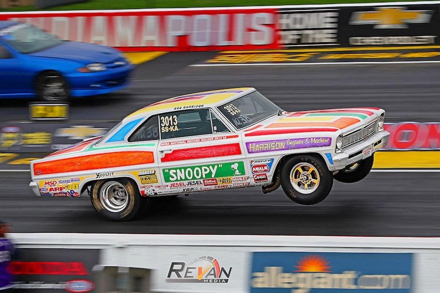 """Car Features: Robert Harrison and """"SNOOPY"""" his 1966 Chevrolet Nova"""