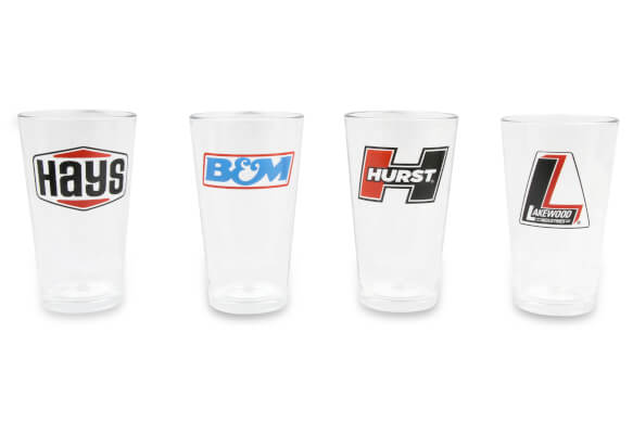 Holley 4 pack pub glasses