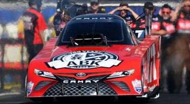 DeJoria's Tough Return to NHRA Funny Car Racing