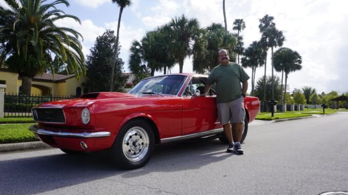 Car Features: Gilbert Ramirez and his 1965 Ford Mustang