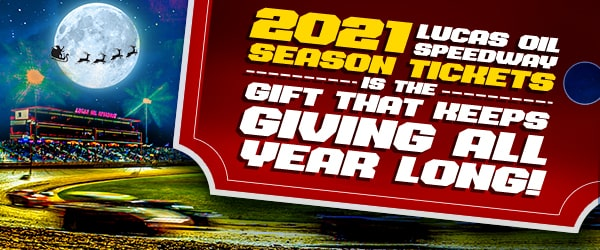 Lucas Oil Speedway Gift Cards and Season Passes