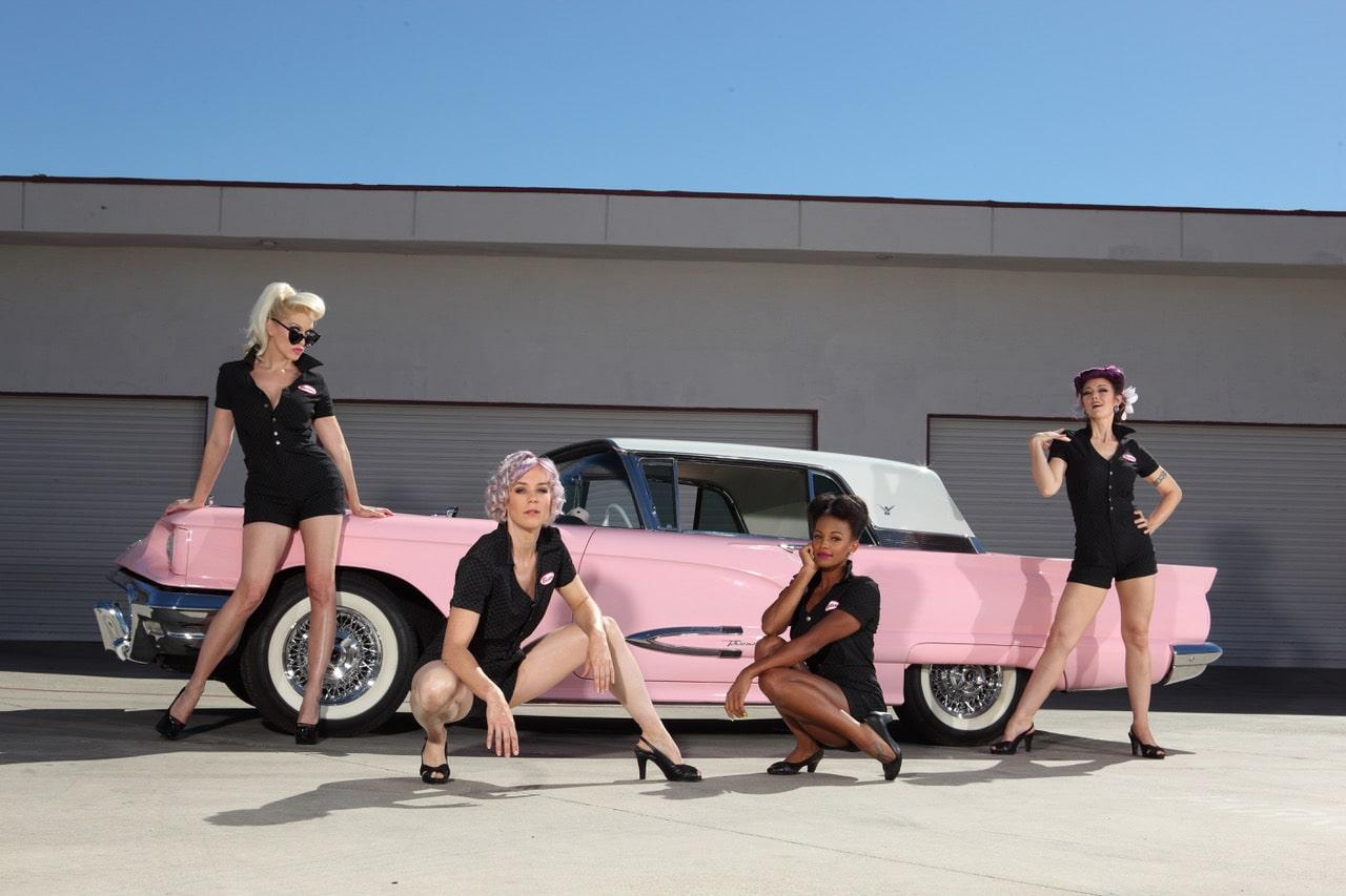 Pinup Pole Show: Tonya Kay, Candace Cane, Monica Kay and Heather Lou!