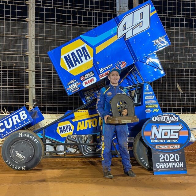 World of Outlaws Champions Crowned at The Dirt Track at Charlotte