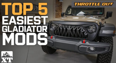Extreme Terrain Picks the Top 5 Easiest Mods for the 2020 Jeep Gladiator
