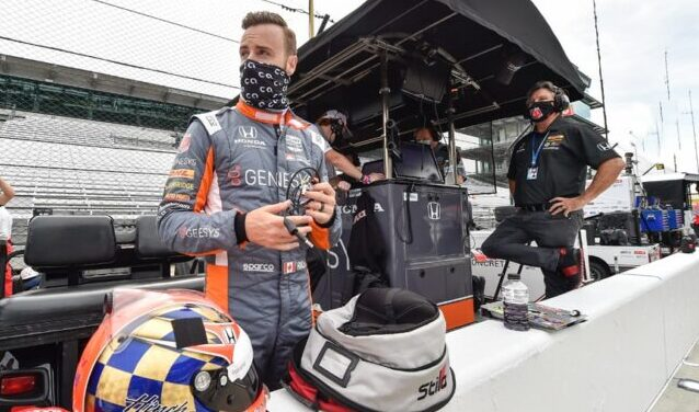 Hinchcliffe and Michael Andretti Indy 2020