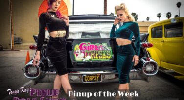 Pinup Pole Show Pinup of the Week: Tiffany Rose, Monica Kay and Tonya Kay.