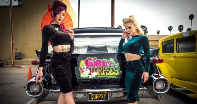Pinup Pole Show: Tiffany Rose, Monica Kay and Tonya Kay.