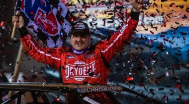 Chris Madden Drives to Redemption During World of Outlaws Tennessee Tipoff Weekend
