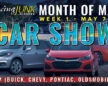 Register Your GM for Week One of Month of May Virtual Car Show!