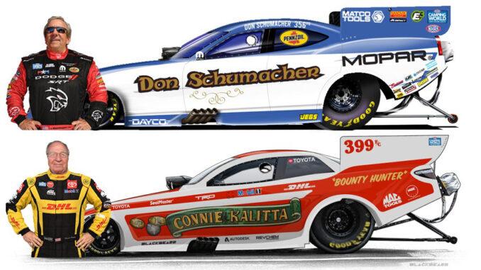 Don Schumacher vs Connie Kallita
