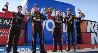 NHRA Champions Back On Top at NHRA Four Wide Nationals   at The Strip at Las Vegas Motor Speedway