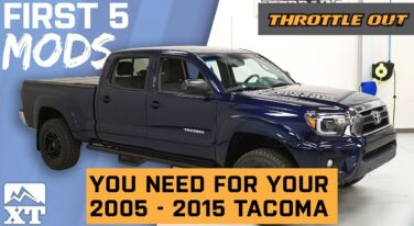 [Video] 2005-2015 Toyota Tacoma First 5 Mods