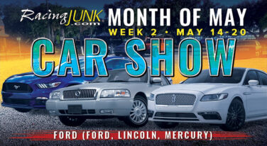 RacingJunk Month of May Car Shows: Celebrating: Ford