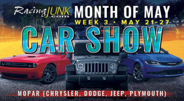 RacingJunk Month of May Car Shows: Mopar Madness