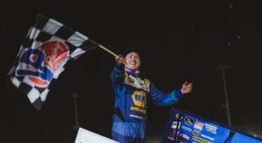 Brad Sweet Races to World of Outlaws NOS Energy Drink Sprint Car Series Trifecta