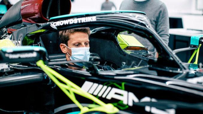 Grosjean Returns to F1During French GP Weekend