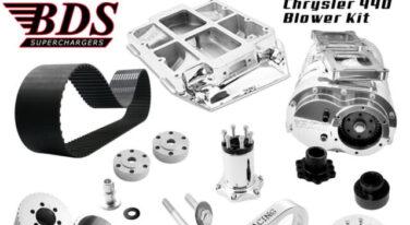 RacingJunk Month of May Mopar New Product: Chrysler 440 Blower Kit
