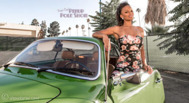 Pinup Pole Show of the Week: Candace Cane and Karman Ghia