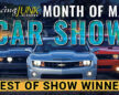 The 2021 RacingJunk Month of May Car Shows Best in Show Winner is Bryan Flach's 1968 Plymouth Barracuda