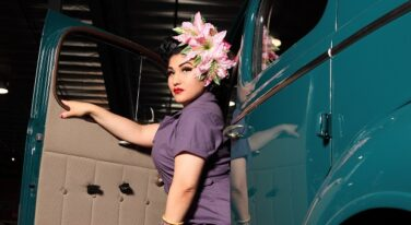 Mitzi's Pinup Corner: Gitana Rose