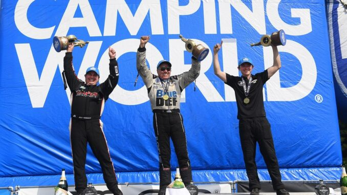 Experience Races to the Top at the TascaParts.com NHRA New England Nationals
