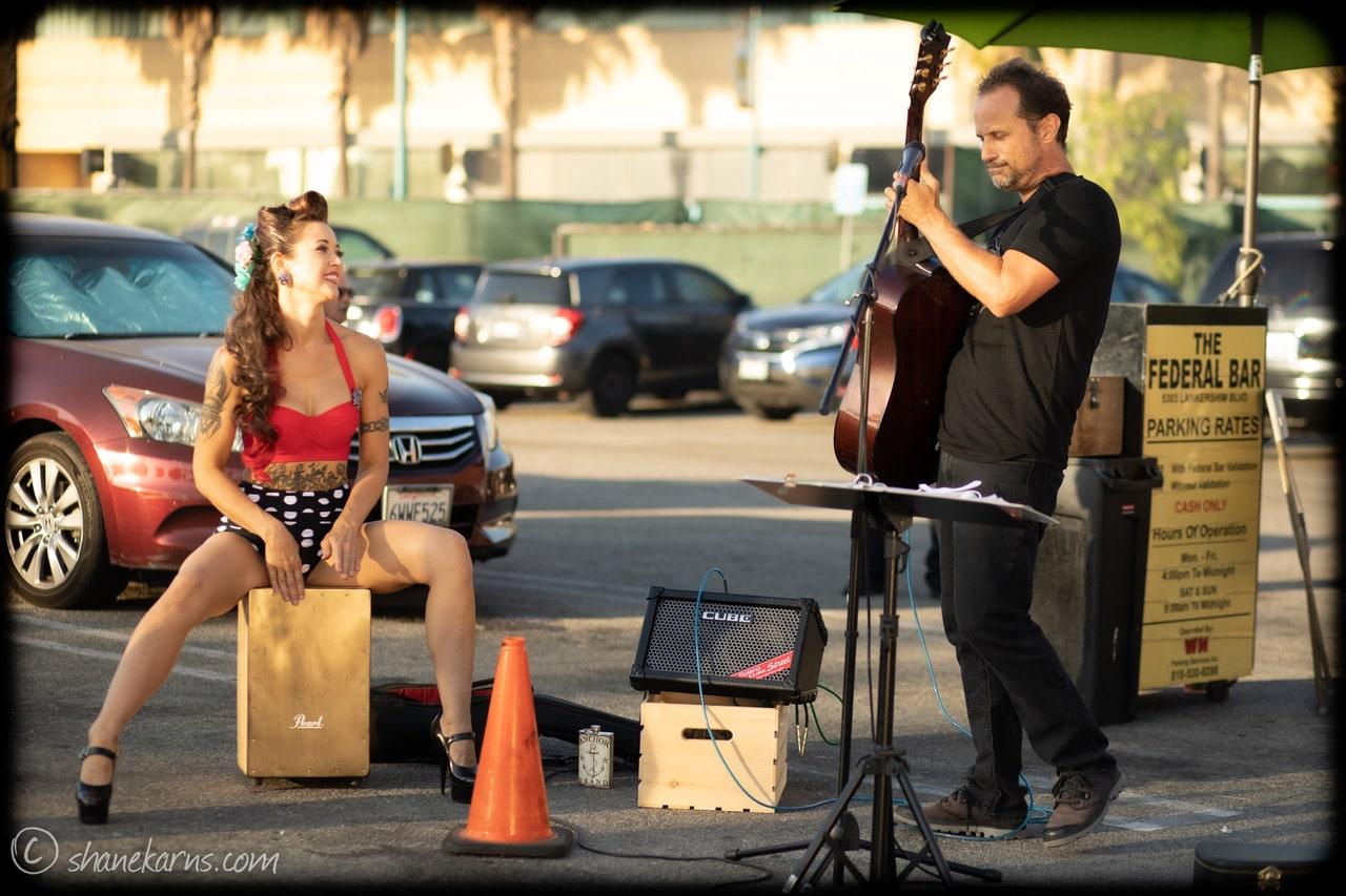 Monica Kay with Joe Petra