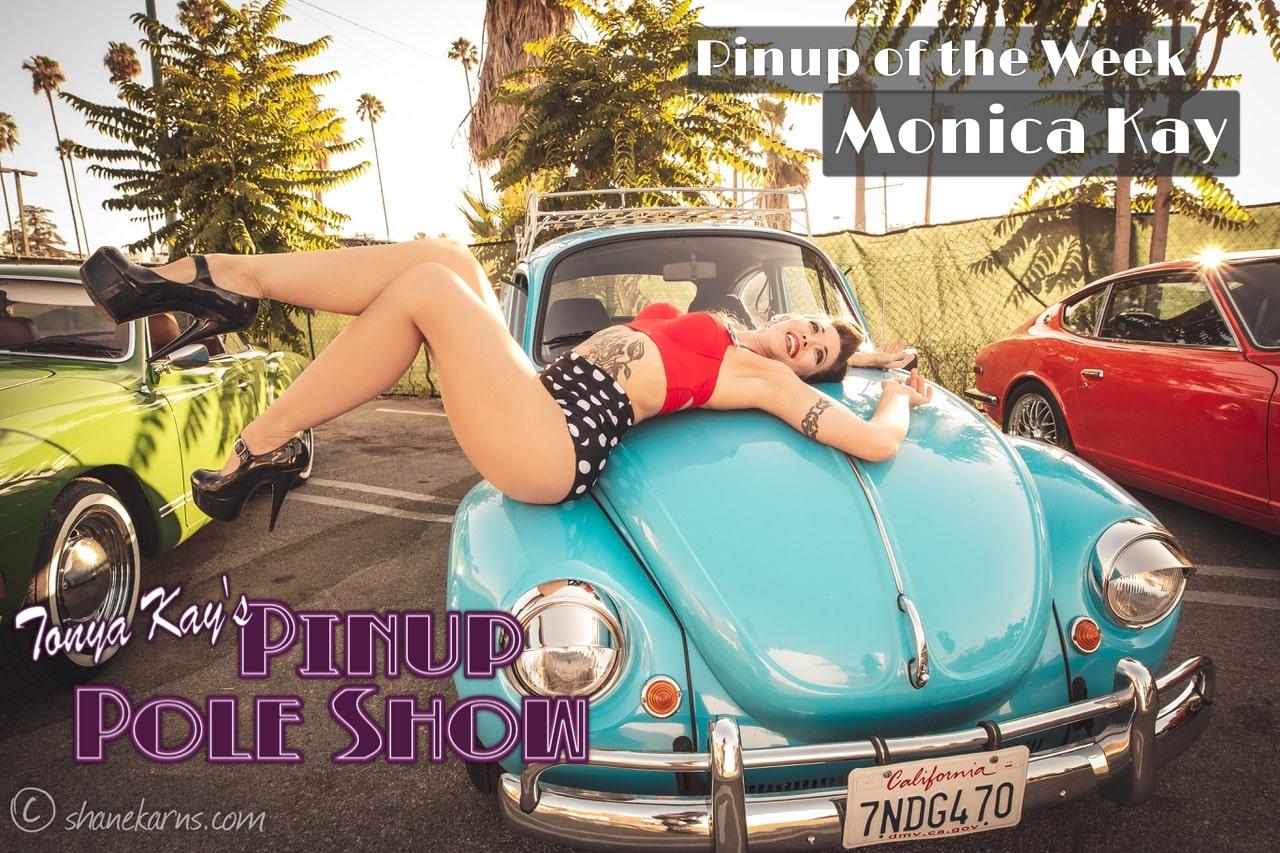 Pinup Pole Show Pinup of the Week: Monica Kay with Joe Petra