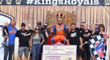 Tyler Courtney Claims First World of Outlaws Kings Royal Victory