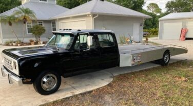 Today's Cool Car Find is this Vintage 1979 Dodge Car Hauler