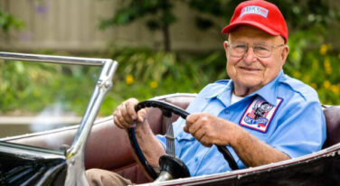 """Petersen Automotive Museum Will Host Cruise-In Celebrating  Ed """"Isky"""" Iskenderian's, 100th birthday."""