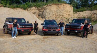 Bronco Sending Three Teams to the Rebelle Rally
