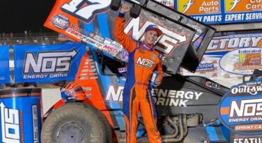 Haudenschild Becomes World of Outlaws Ironman at Federated Auto Parts Raceway