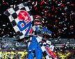 Kyle Larson Races to First World of Outlaws Morton Buildings Late Models Victory