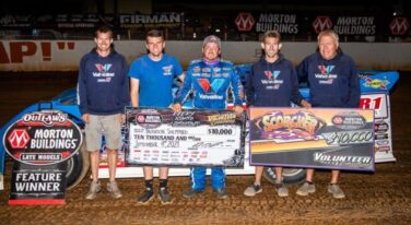 Brandon Sheppard Continues His Quest for World of Outlaws History at Volunteer Speedway
