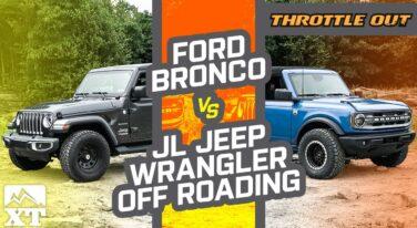 [VIDEO] 2021 Ford Bronco vs Jeep Wrangler JL